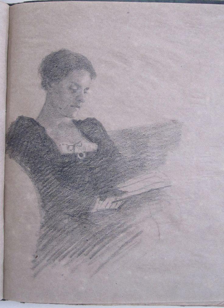 Vanessa (Bell) reading