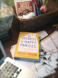The Secrets of Happy Families Haven't read, but want to.  Thanks, Joy!