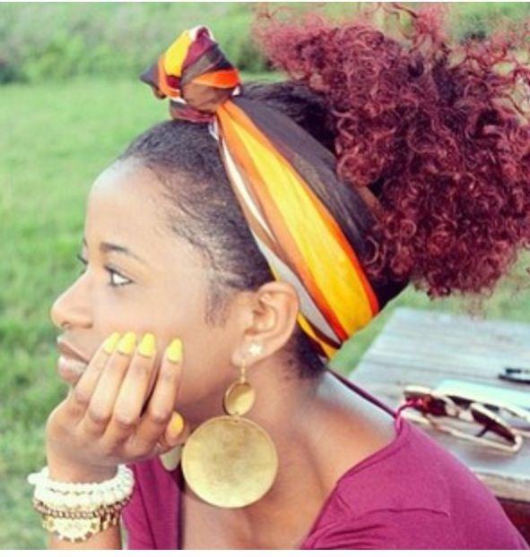 Outstanding 17 Best Images About Hair Scarves On Pinterest Short Hairstyles For Black Women Fulllsitofus