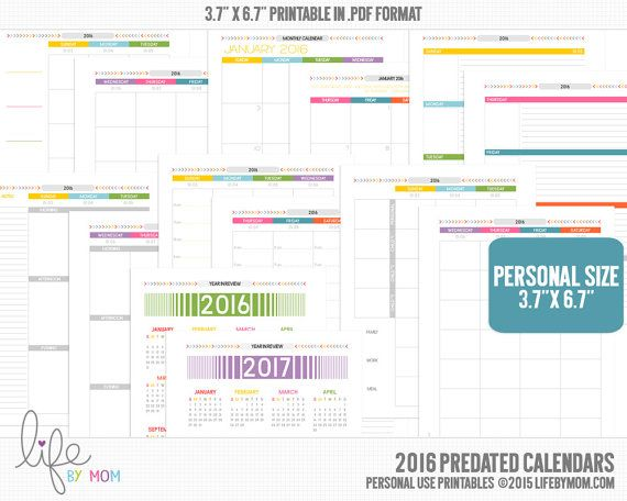 Best Lifebymom  Planners Images On   Agenda Printable