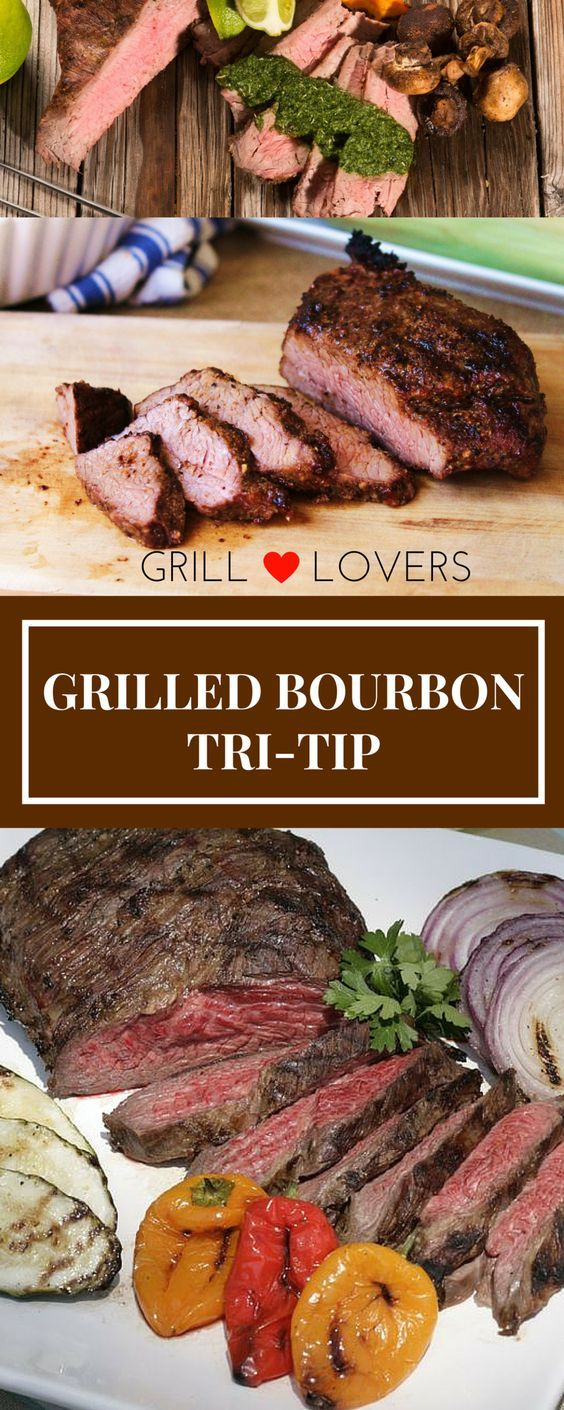 PrintGrill Lovers' Grilled Bourbon Tri-Tip Recipe (Servings: 8) Ingredients4 to 6 pounds tri-tip BOURBON MARINADE: 2 lg red onions 1/2 c fresh rosemary 1/2 c fresh mint leaves 1/2 c bourbon 1 T salt 3/4 c to 1 cup balsamic vinegar 2 c tomato juice 6 to 12 garlic cloves 1/2 c soy sauce InstructionsCombine[...]