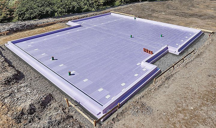 Inverted Roof In General Jackon Insulation Slab Insulation Floor Slab Insulation