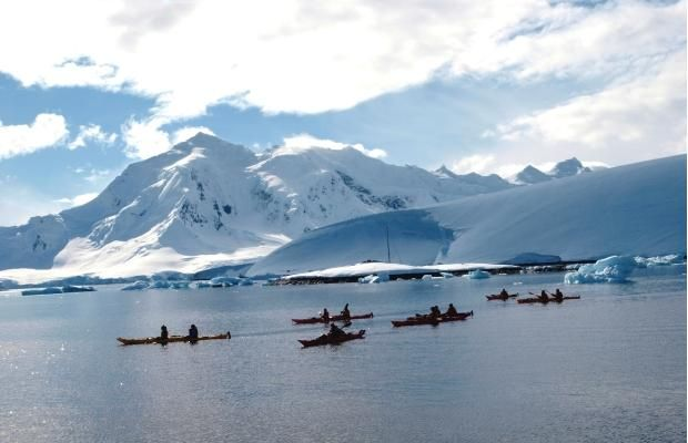 Nice read - Alberta Travel writer Theresa Storm explores the frozen continent of Antarctica by expedition ship and kayak
