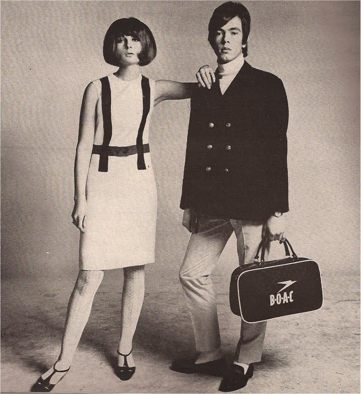 London mod style - Richard Avedon's HARPER'S BAZAAR april 1965 Chrissie Shrimpton and Doug Gibbons