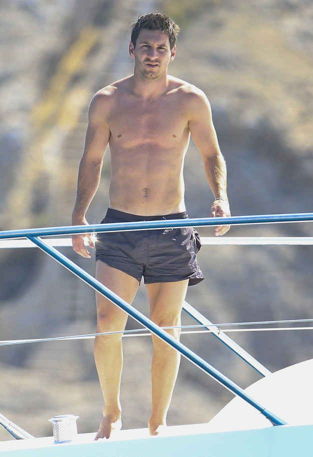 Let's just take a minute to appreciate his perfect body. | Proof That Messi Is The Most Perfect Human Being On Earth