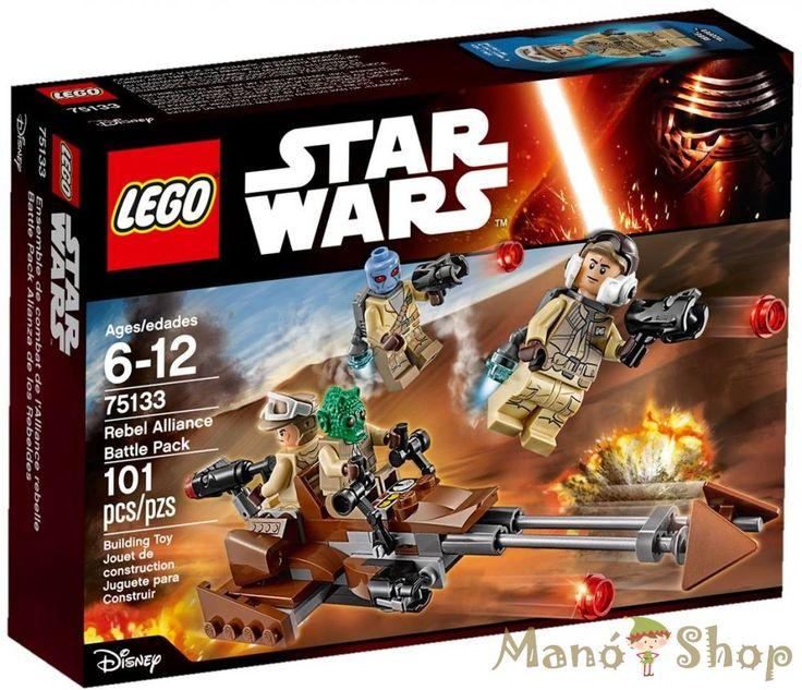 Lego Star Wars Lázadók Harci Csomag 75133