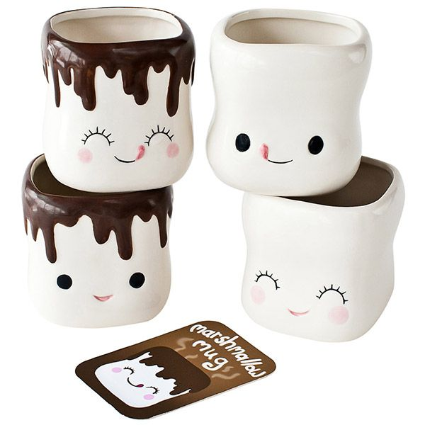 Marshmallow Mugs...I want these!