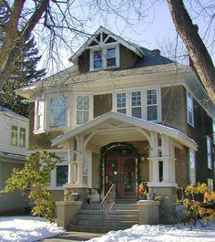 denver four square architecture - Google Search                                                                                                                                                     More