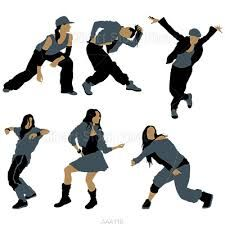 Jazz Dancer Silhouette Clip Art