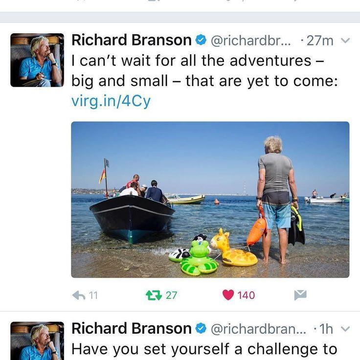"I say ""Good Day to you Sir Richard Branson @richardbranson from Sir Buoy!"" Thanks for taking the New Wave Swim Buoy on your adventures! Where in the world is the New Wave Swim Buoy now? . . https://twitter.com/richardbranson/status/892784762728976388 . .  #NewWaveSwimBuoy #BeBrightBeSeen #Trispiration #RoadToIronman #SwimRun #TriathlonBrasil #IronmanTriathlon #OpenWaterSwimming #TriathlonLife #HalfIronman #Triathletes #TheTriHood #top_triathletes #tri365 #triatleta #nadapedalacorre #natacao…"