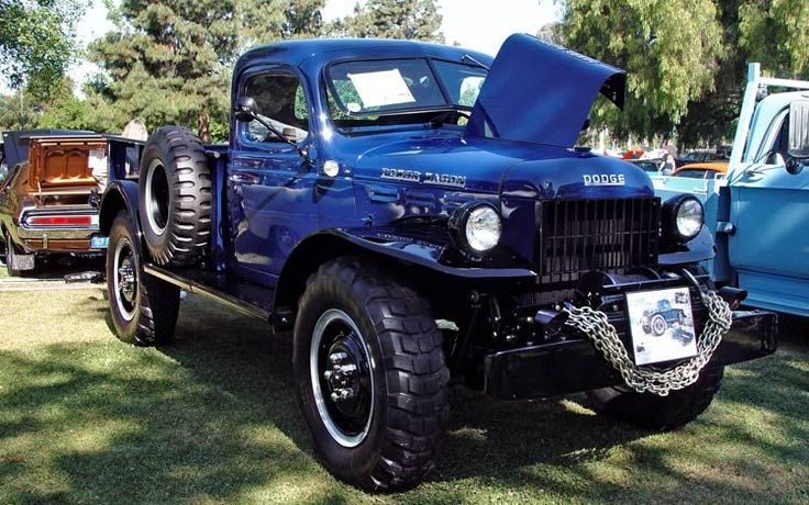 1946 Dodge Power Wagon Front View