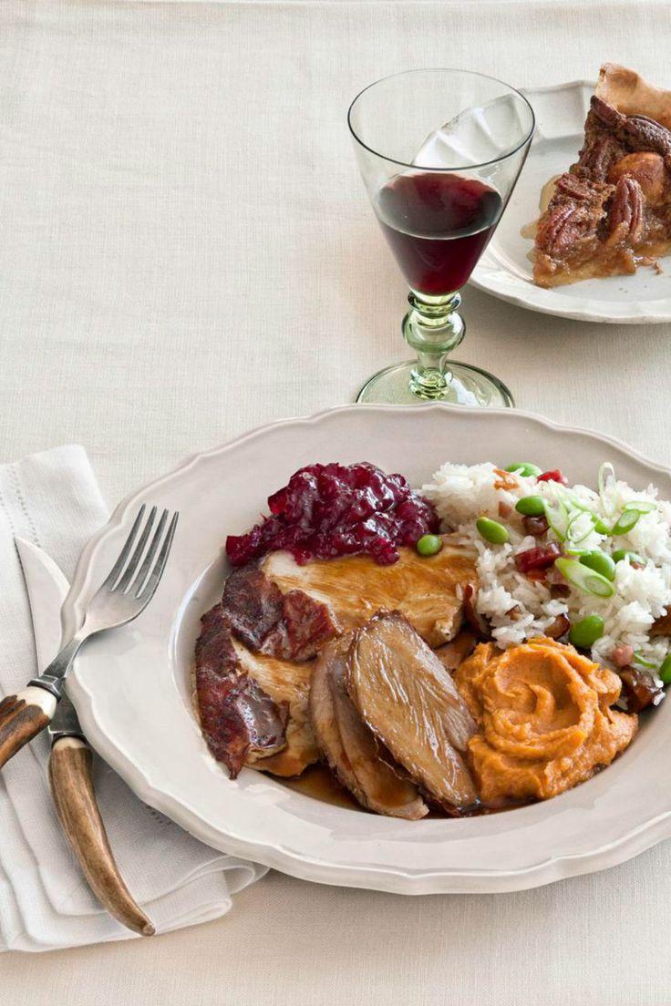 Roasted Turkey with Hoisin Gravy