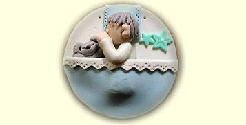 premo! Sleeping Child Ornament