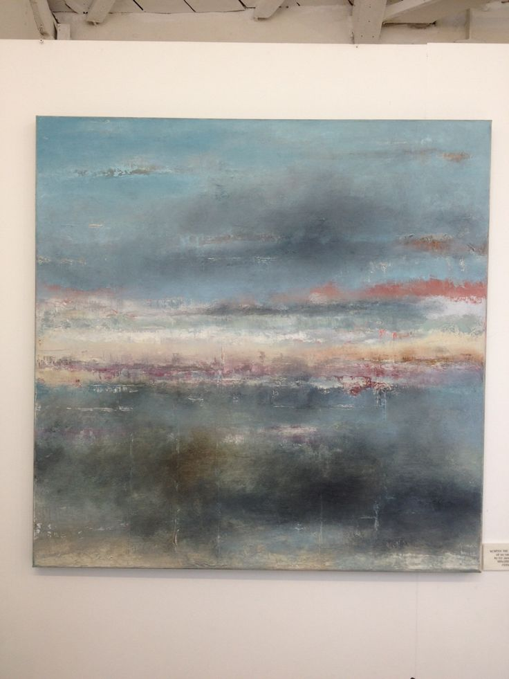 Across the Lagoon. Oil painting by Liz Jameson at Riversid Gallery Lewes.