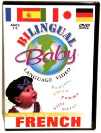 Aimed at 1 - 5 year olds, this DVD introduces over 60 words and phrases, completely immersing your child in French, at a time when their ability to develop a second language is highest.