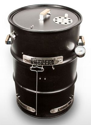 Ugly Drum Smokers are homemade from 55 gallon drums. Big Poppa's has an inexpensive kit to help you get smoking in no time flat.