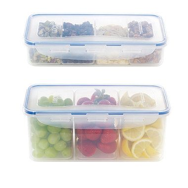 Perfect Lock N Lock Plastic Storage Containers; Much Better Than Other Plasticware  Out There   Microwave, Freezer And Dishwasher Safe, Plus COMPLETELY Leak  Proof, ...