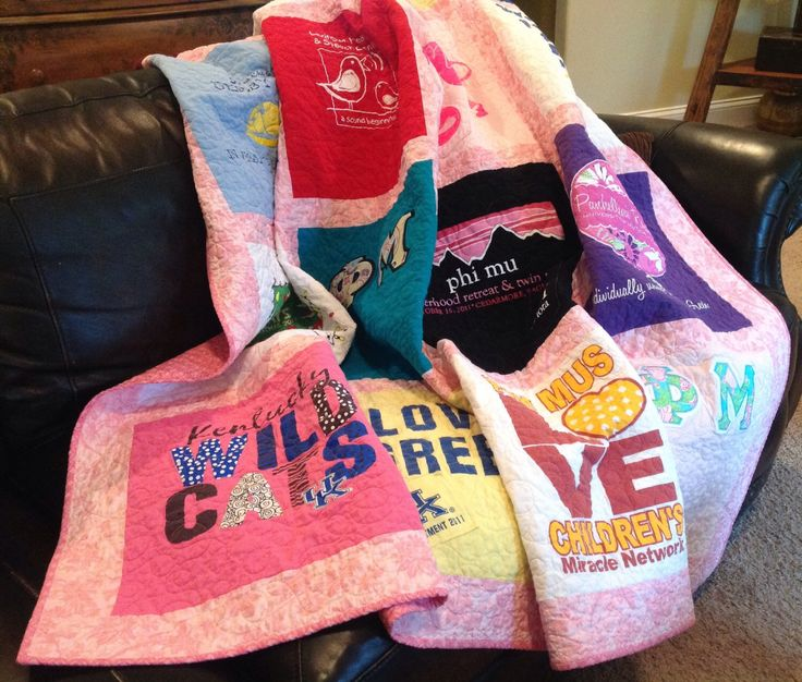 Custom T-Shirt Quilt by justsaysewing on Etsy https://www.etsy.com/listing/279569408/custom-t-shirt-quilt
