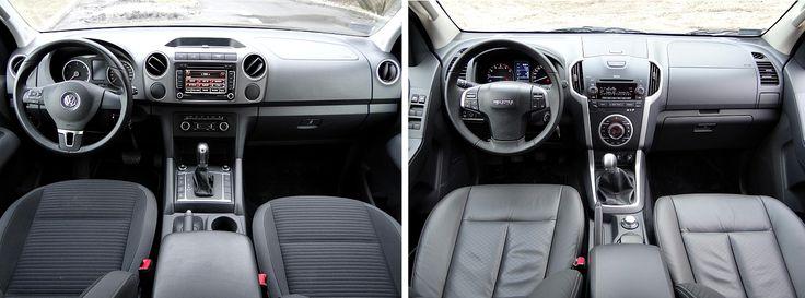 TEST - Volkswagen Amarok kontra Isuzu D-MAX - porównanie roboczych...