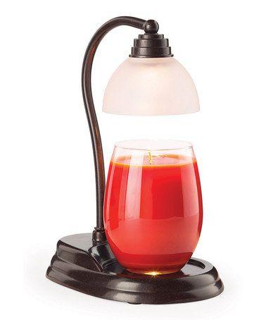 Look at this #zulilyfind! Bronze Aurora Candle Warmer Lamp by Candle Warmers #zulilyfinds
