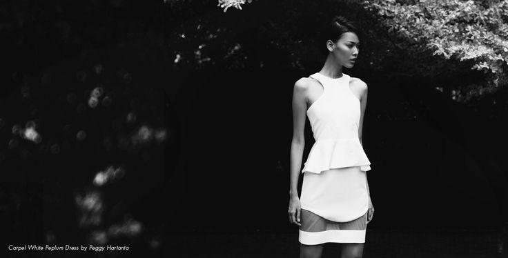 An ethereal dress by Peggy Hartanto. Photographed by Hilarius Jason Pratana for Bobobobo.