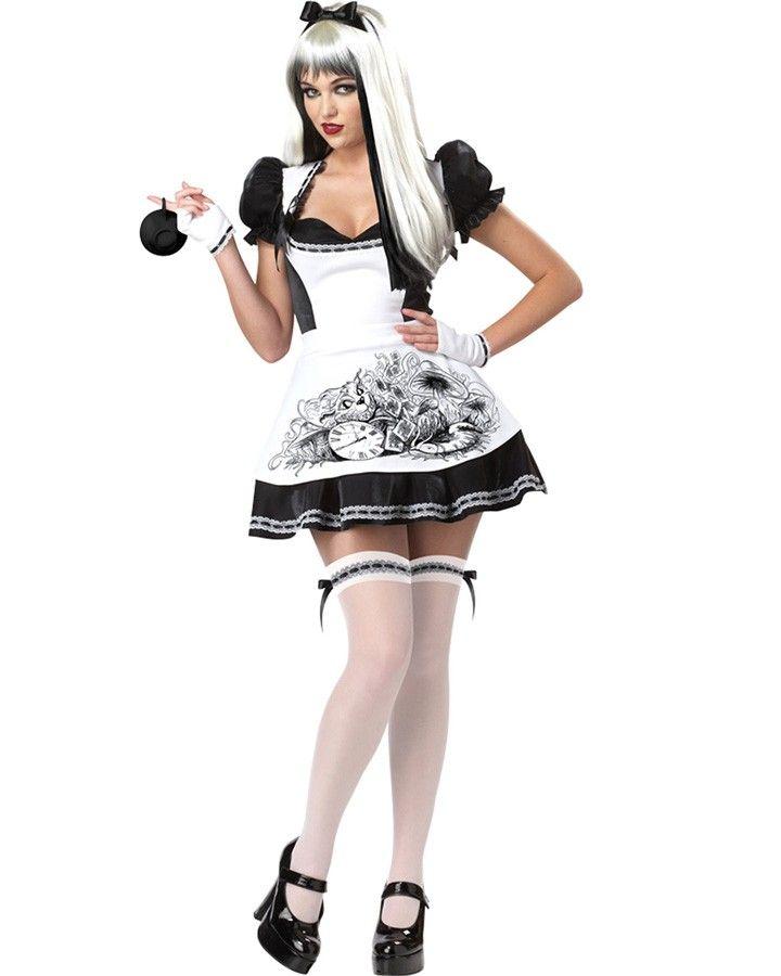 Dark Alice Womens Costume