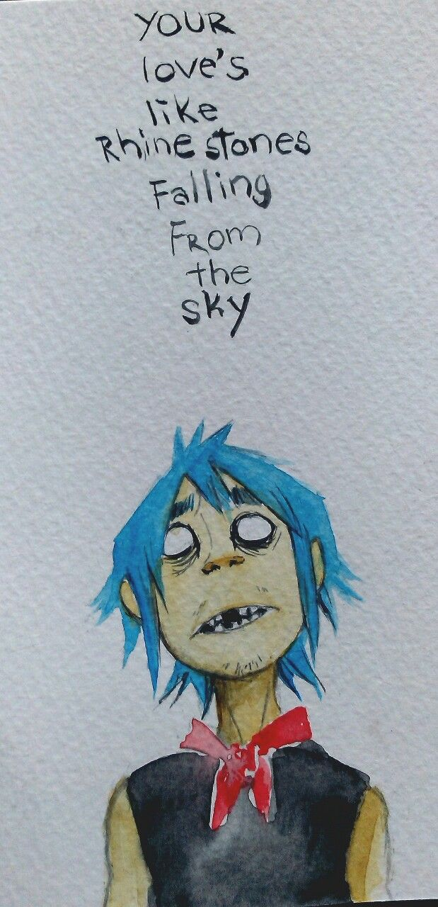 Rhinestone eyes Probably my favorite Gorillaz song, actually, even though picking a favorite is nearly impossible this one is maybe the one I like most (maybe) Also because I have run out of ideas for...