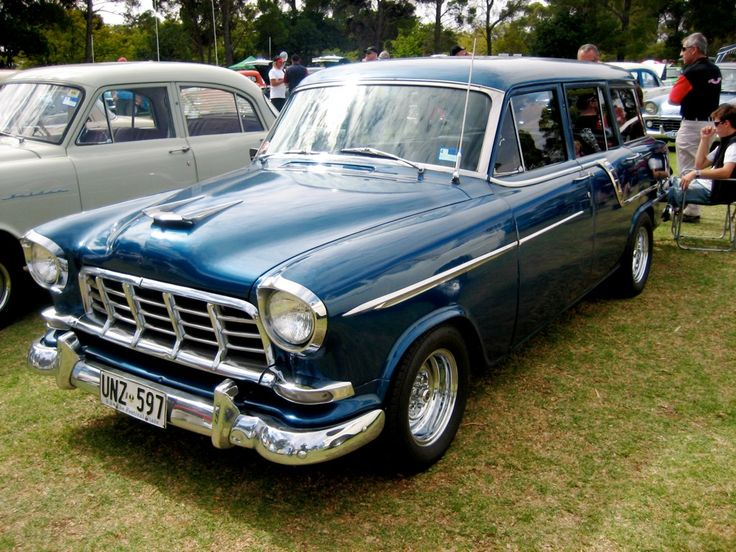 1958-1960 Holden FC Special Station Sedan