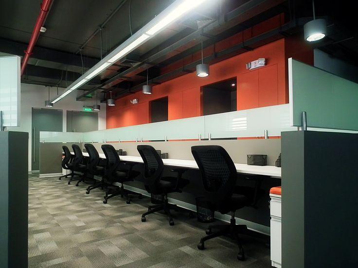 Área de trabajo oficinas COGA TGP    Diseño S-XL Arquitectos