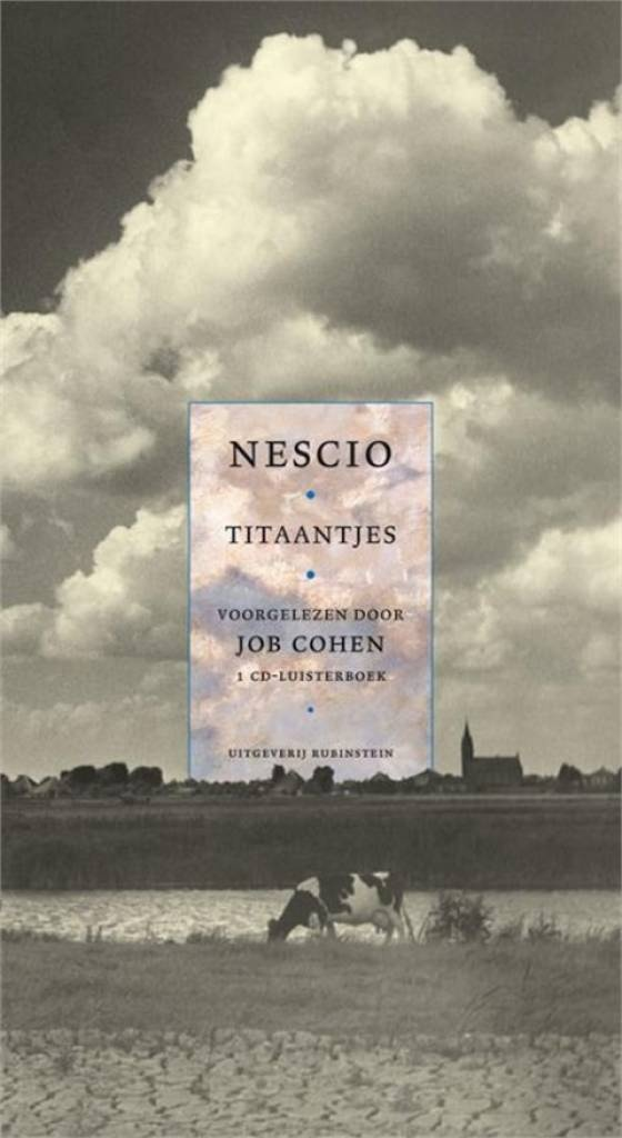 With this book I started to love Dutch literature. Amazing how Nescio managed to play with his words and add beauty and harmony to his language.