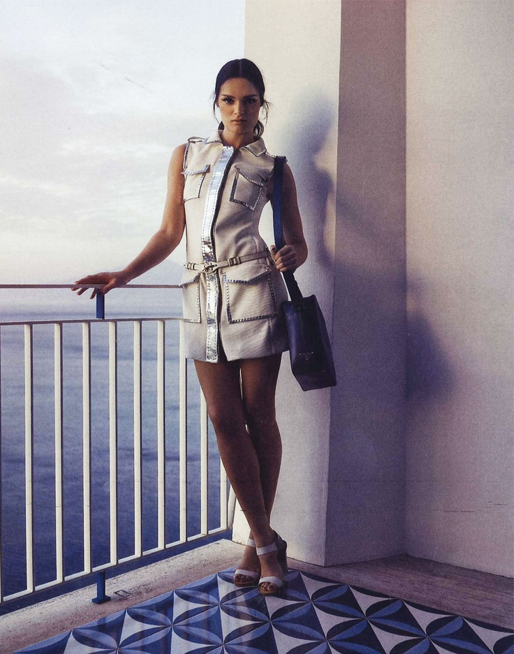 FAY for MYSELF Germany - 2013.  Women's Spring Summer 2013 collection – Minidress