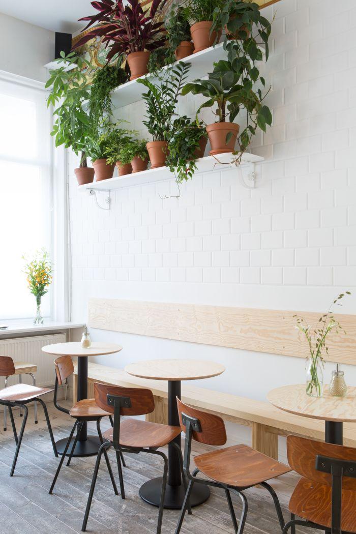 Design of Buchbar.: a coffeeshop and bookstore in one. Scheldestraat 79, Antwerp (Belgium). photo: www.frederikvercruysse.com