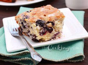 Blueberry Buttermilk Coffee Cake | FaveSouthernRecipes.com