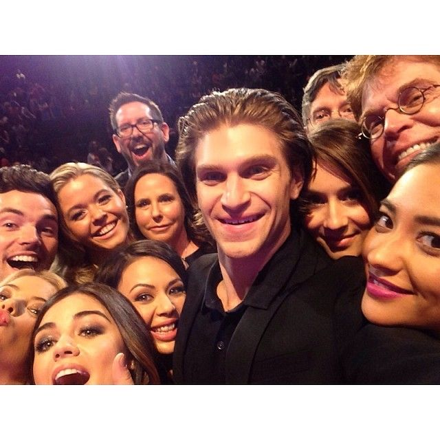 This selfie is everything. #PLLatPaley2014