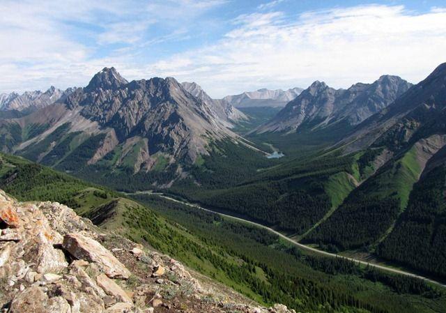 #hiking #ExploreAlberta Pocaterra Ridge from 10 Great Hikes along Kananaskis Trail, Alberta, Canada.