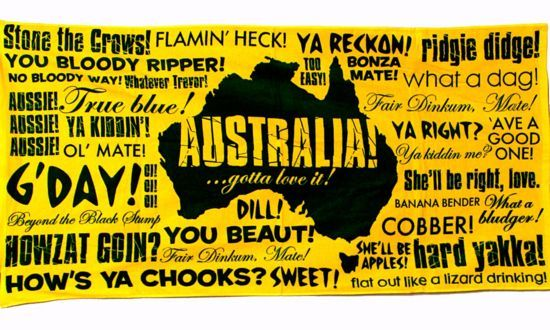 Popular Australian Slang