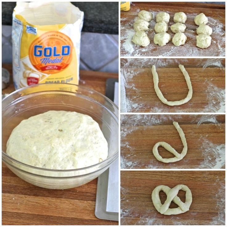 Soft Pretzels - homemade pretzels are easier to make than I ever thought and these are much better than the ones at the mall or ballpark!