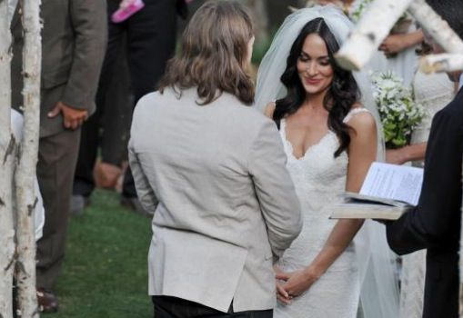 Daniel Bryan & Brie Bella's beautiful wedding.