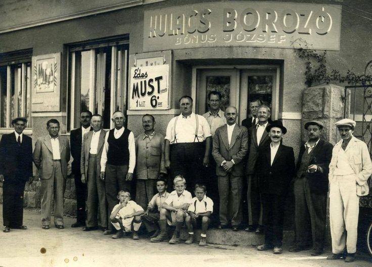 Kulacs borozó, Baross utca sarka. Pestszentlőrinc, XVIII. kerület.
