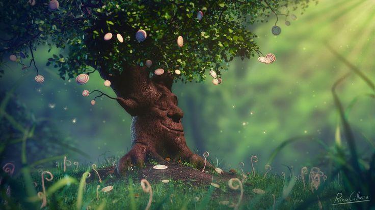 Candy Tree - BlenderNation