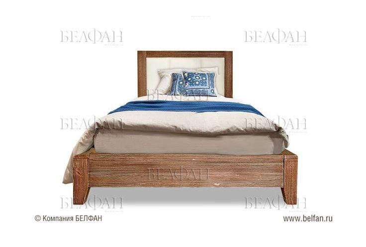 """Кровать """"Concept"""" 120  (низкое изножье); с основанием, без матраса; *БМ-2317; (1200х2000); мокко"""