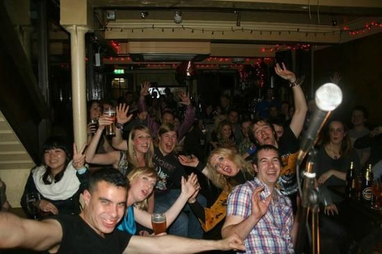 The Comedy Crunch-Downstairs at The Stags Head :) great comedy shows in friendly pub