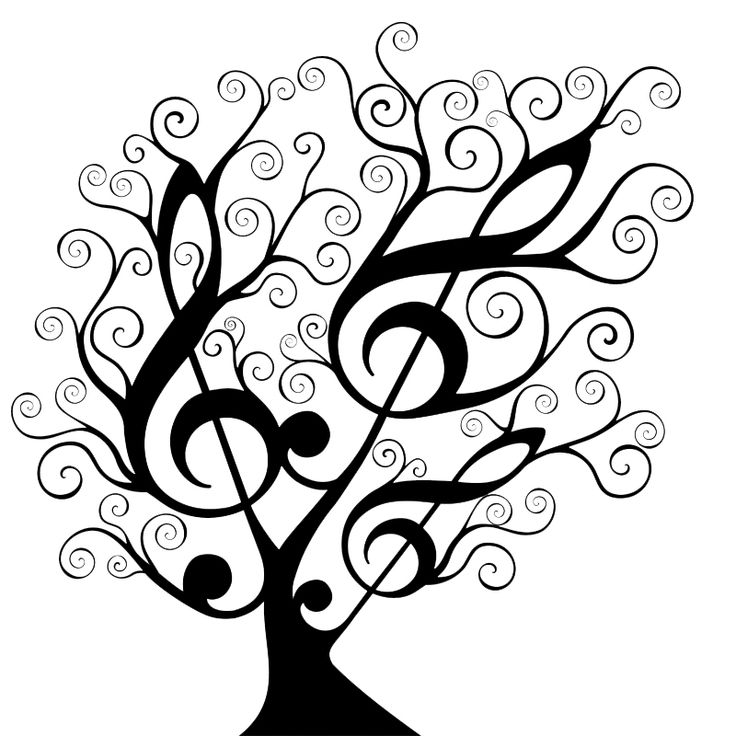 Tree of Music... Tree of Life. | Tattoo Ideas | Pinterest ...