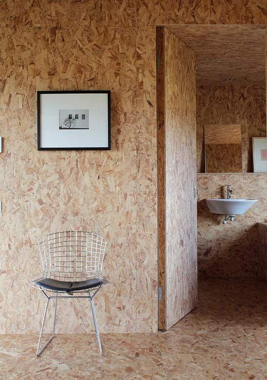 Oriented Strand Board (OSB) home - AGRICULTURAL CHIC