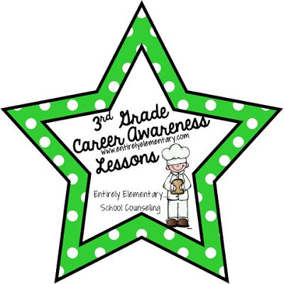 Entirely Elementary...School Counseling: 3rd Grade Career Awareness Lessons #1 and #2