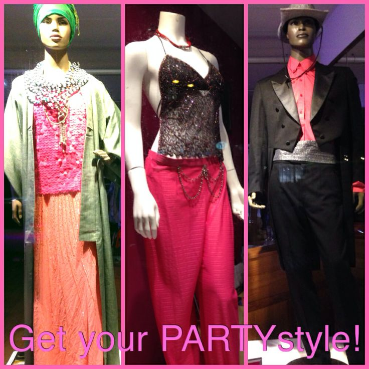 Party in your personal style