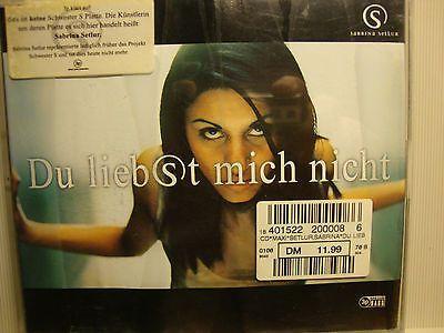 CD Musik Sabrina Setlur, Du liebst mich nichtsparen25.com , sparen25.de , sparen25.info