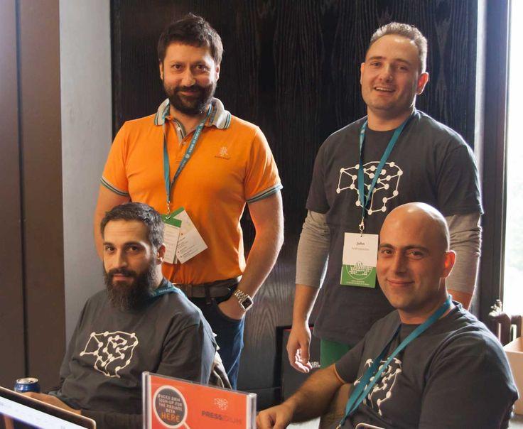 Team Pressidium - The Founding Fathers at Word Camp EU 2014