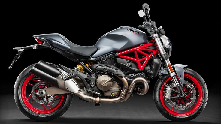 2017 Ducati Monster 821 - Dust Grey