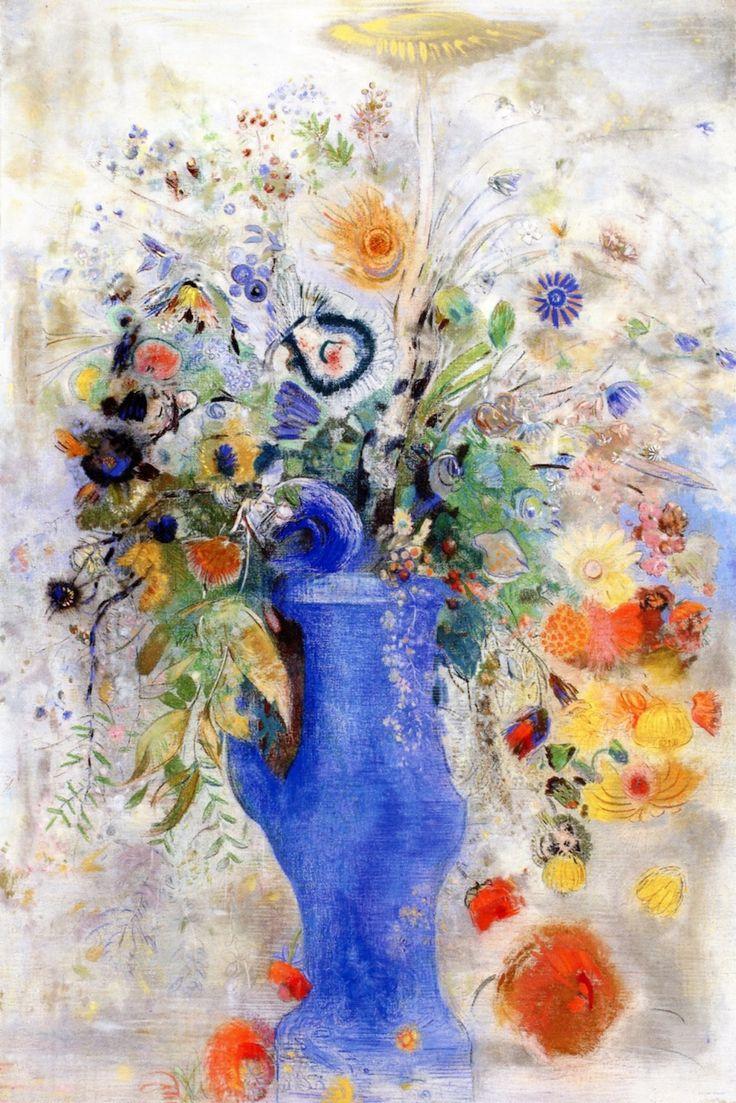 Large Bouquet Odilon Redon - 1901